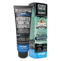 Activated Charcoal toothpaste peppermint