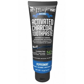 My Magic Mud Activated Charcoal toothpaste peppermint