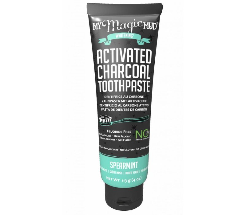Activated Charcoal toothpaste spearmint