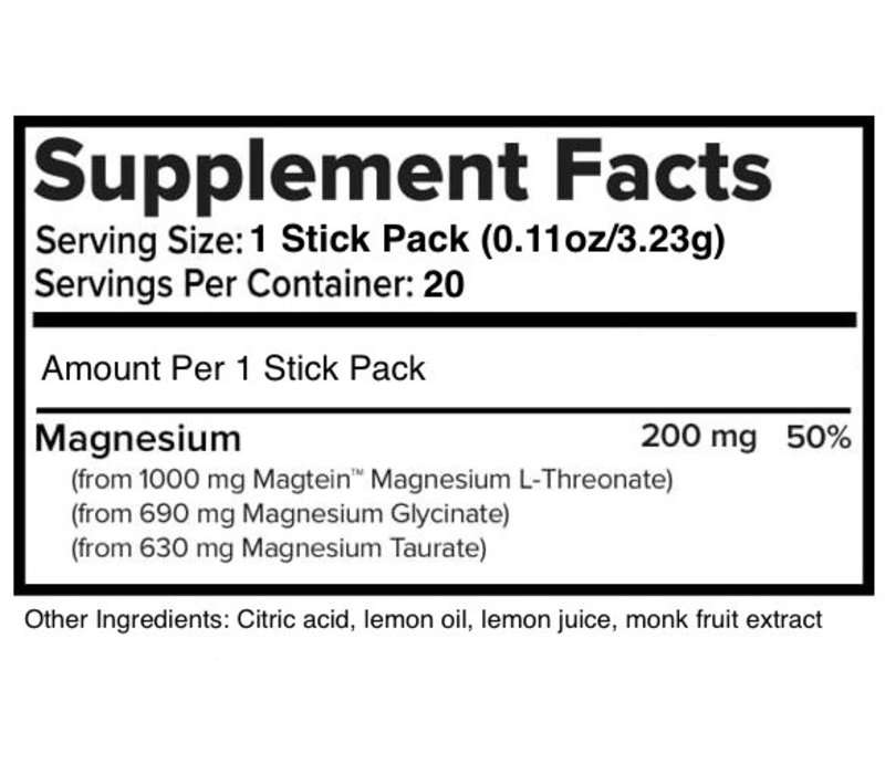 MagTech™ Magnesium Drink Mix