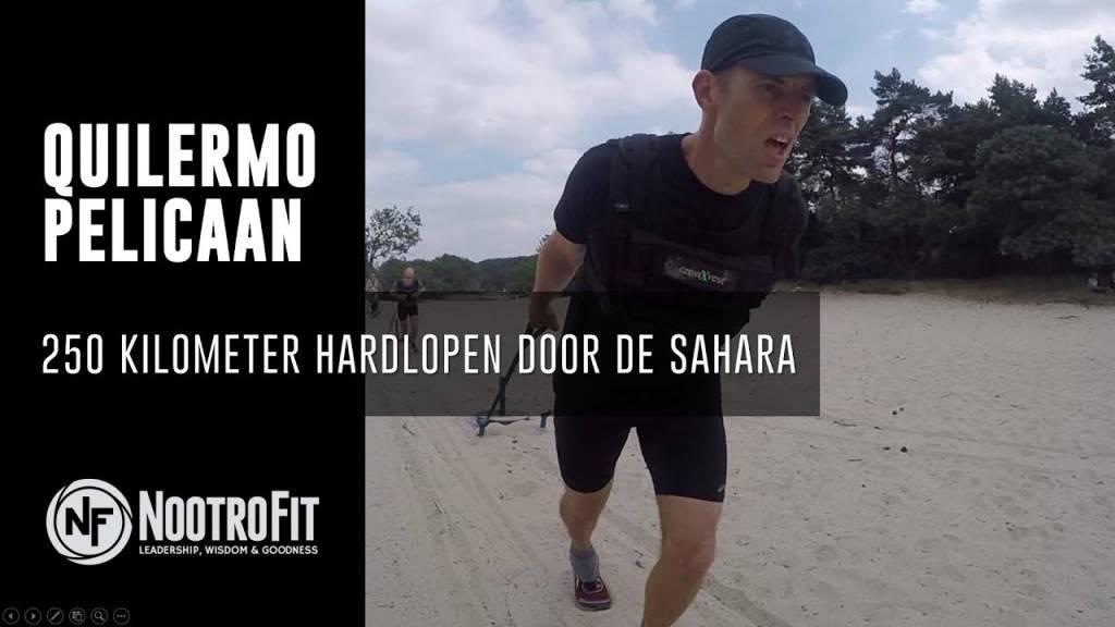 #4 | 250 kilometer hardlopen door de Sahara met Quillermo Pelicaan