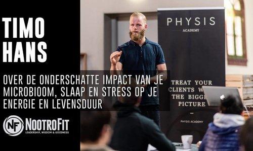 #9 | Timo Hans over het belang van je microbioom, slaap en stress op je ervaren Energie!