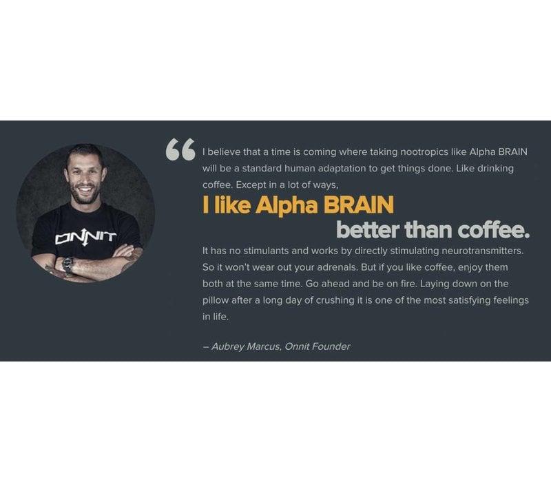 Alpha Brain - 30 capsules