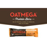 Oatmega Chocolate Peanut Crisp Protein Bar (Box)
