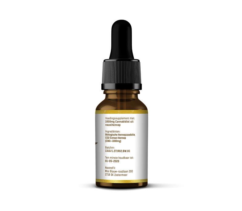 CBD Olie - 10% Golden Hemp Extract