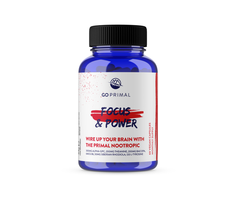 Focus and Power - Primal Nootropic