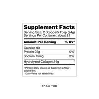 Upgraded™ Collagen - 500 grams