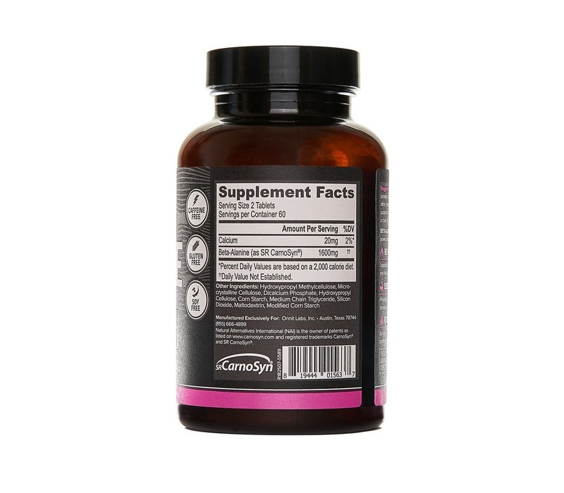 Onnit Beta Alanine Tablets (120 Tablets)