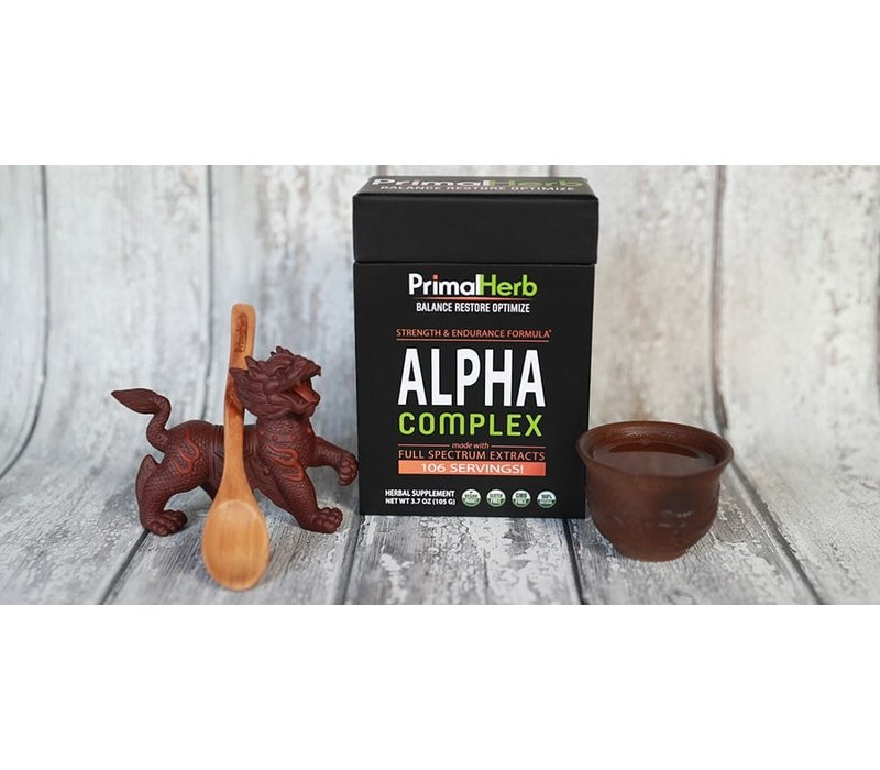 Alpha Complex - Strength and Endurance support