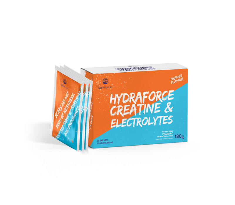 HydraForce – Electrolytes, Creatine and Vit. C - 30 Pack