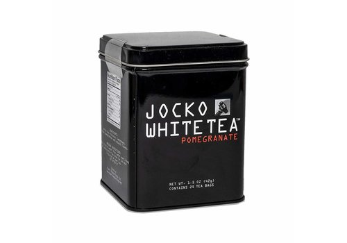 Jocko White Tea Bags Tin