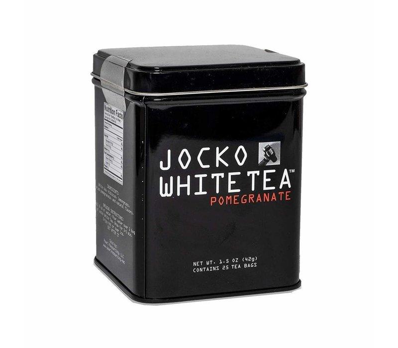 White Tea Bags Tin