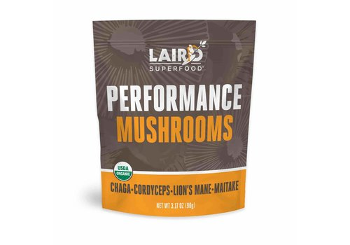 Laird Superfood Organic Performance Mushrooms