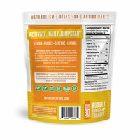 Organic ACTIVATE Daily Jumpstart - Lemon Cayenne Ginger - Laird Superfood