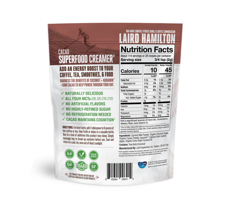 Cacao Superfood Creamer - Laird Superfood