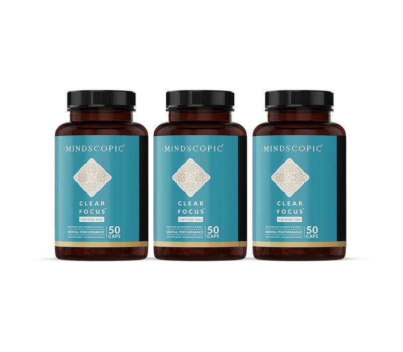 Clearfocus Caffeine free - Mindscopic