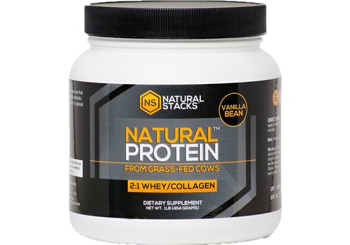 Natural Stacks Natural Protein™ - Vanilla