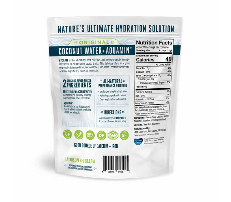 Hydrate Coconut Water - Laird Superfood