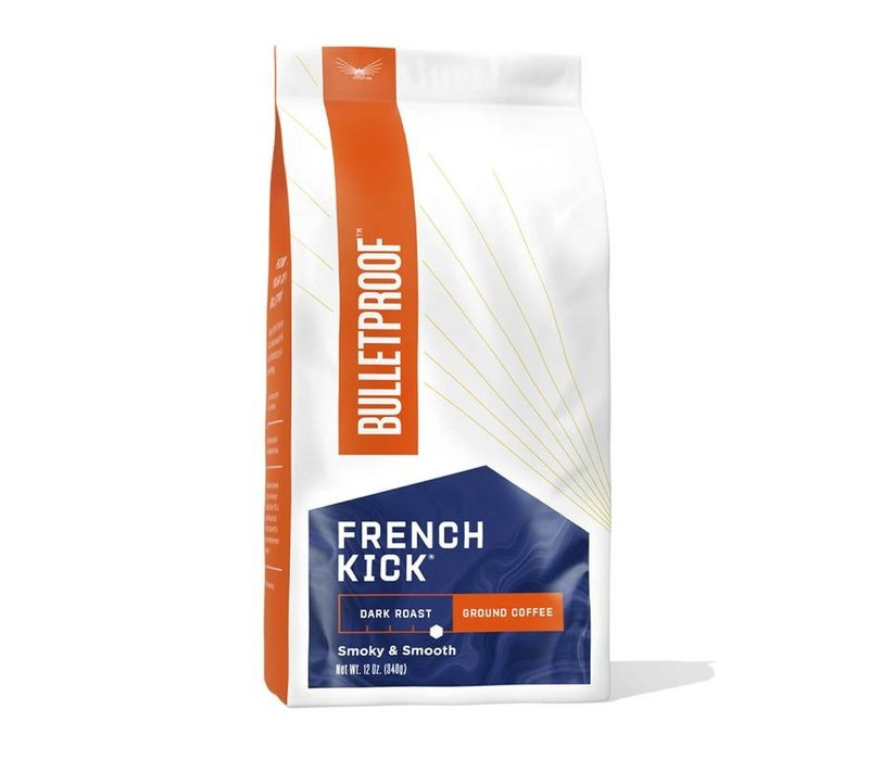 Bulletproof French Kick Dark Roast Gemalen