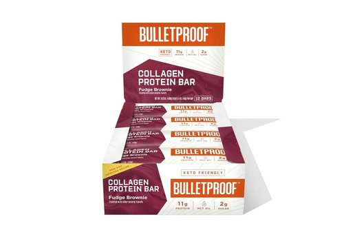 Bulletproof™ Bulletproof Fudge Brownie Collagen Protein Bar