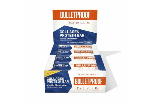 Bulletproof™ Bulletproof Vanilla Shortbread Collagen Proteïne Bar