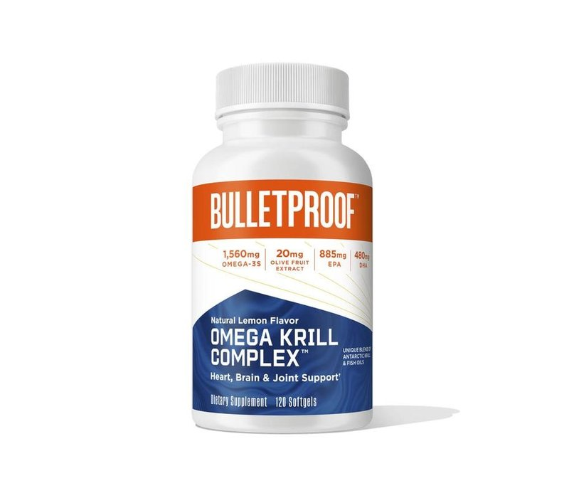 Omega Krill Complex - the bulletproof executive (120 Caps)