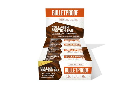 Bulletproof™ Chocolate Chip Cookie Dough Collagen Protein Bar