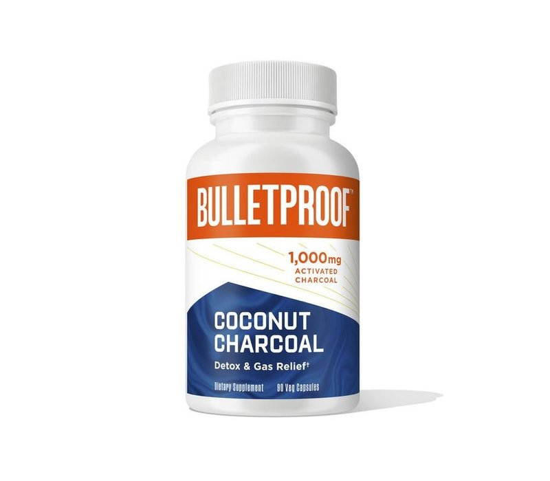 Coconut Charcoal - the bulletproof executive (90 Caps)