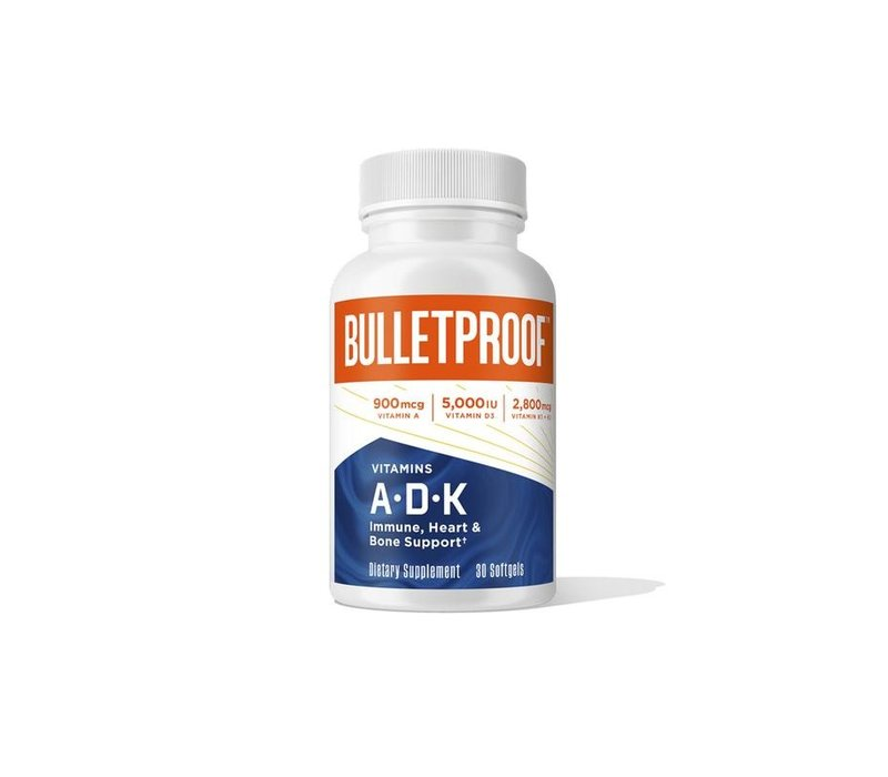 Vitaminen A-D-K - the bulletproof executive (30 Caps)