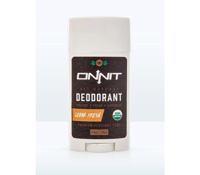 Cedar Fresh Organic Deodorant