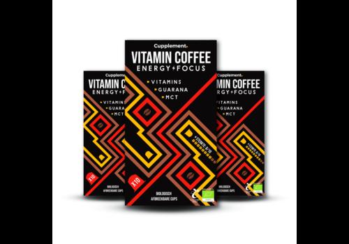 Cupplement Energy/Focus  Dark Roast Espresso