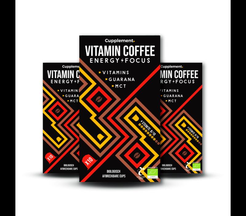 Energy/Focus  Dark Roast Espresso - 10 caps
