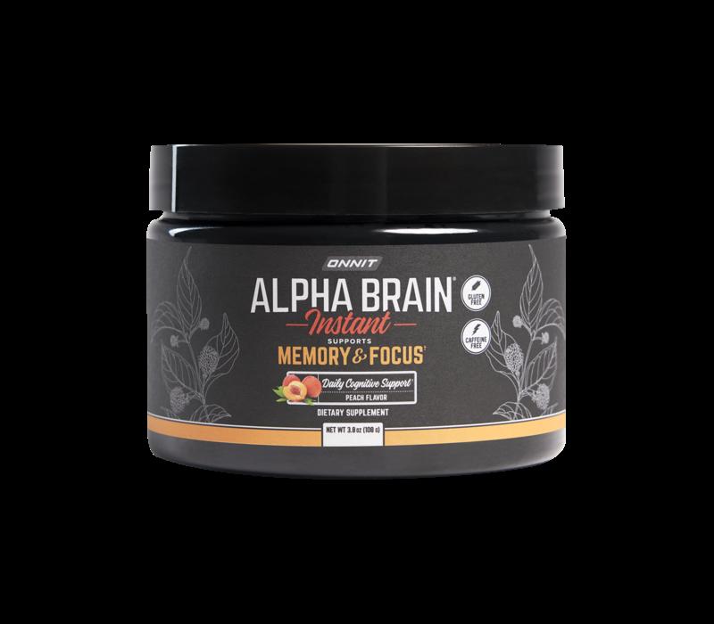 Alpha BRAIN® Instant | Pot - Natural Peach
