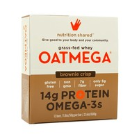 Oatmega Brownie Crisp Protein Bar (box)