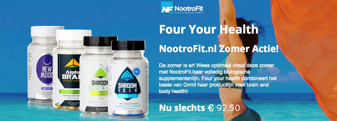 Four Your Health - Zomeractie!