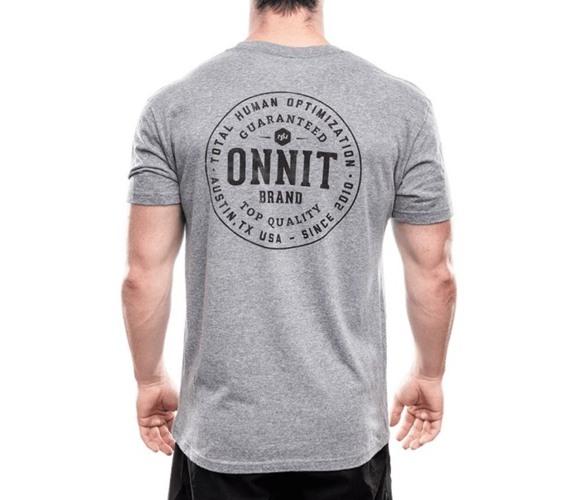 Men's Onnit Guaranteed Tri-Blend - Grey