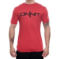 Onnit Type Bamboo T-Shirt - Red