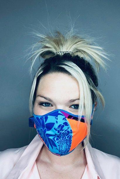 Trendy Safety Mask Flower