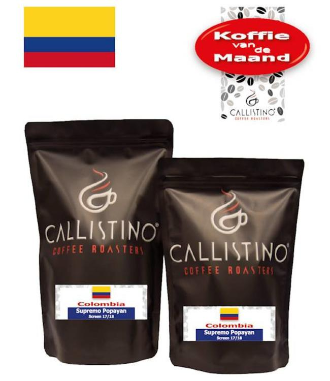 Koffie  vd Maand: Colombia Supremo Popayan 17/18