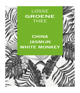 China Jasmijn White Monkey