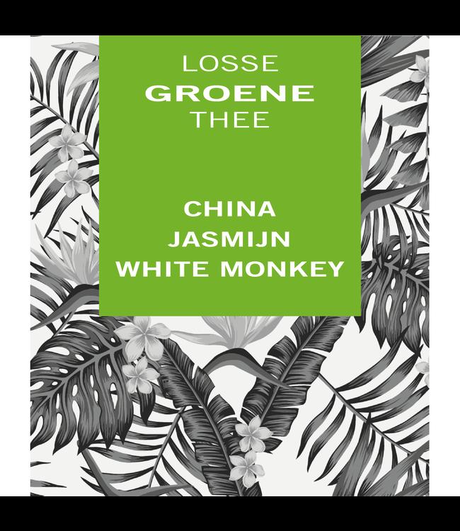 China Jasmijn White Monkey
