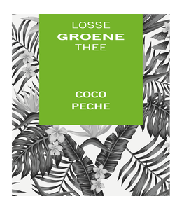 Groene thee Coco Pêche
