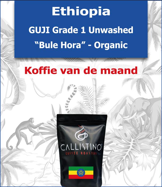 "Ethiopia - Guji Unwashed - ""Bule Hora"" Ogranic"