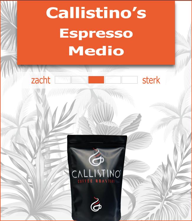 Callistino's Espresso Medio
