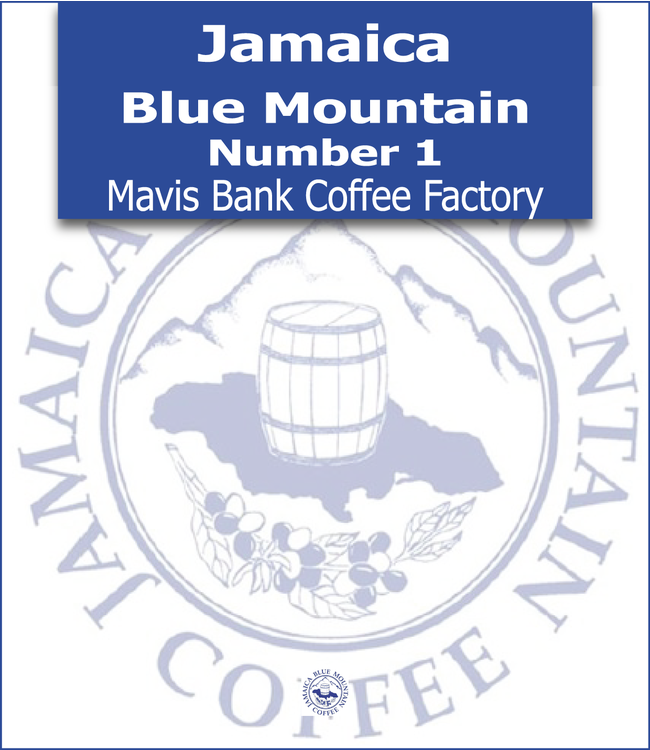 Jamaica Blue Mountain - Number 1 - Mavis Bank Coffee Factory