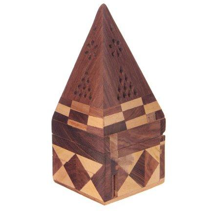 Wierook doosje & Piramides (speciaal voor kegeltjes)