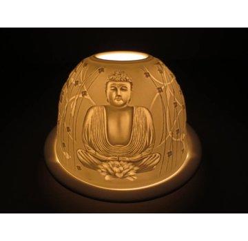 Sfeerlicht porselein - Boeddha