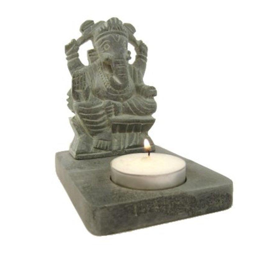 Sfeerlicht - waxinehouder Ganesh
