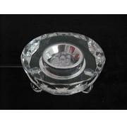 Kristal laserlamp rond met adapter