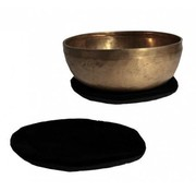 Laag klankschaalkussentje Zwart - 15 cm